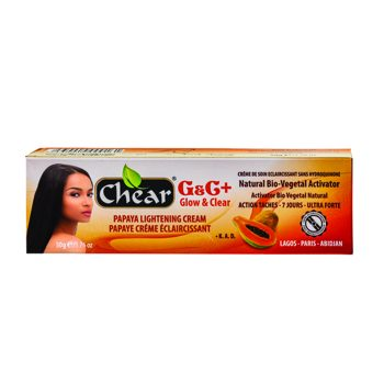 Chear G+C+ glow payaya lightening cream