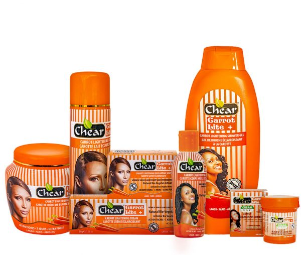 Chear Carrot Light skin lightening kit