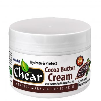 Chear cocoa butter cream for deep skin moisturising