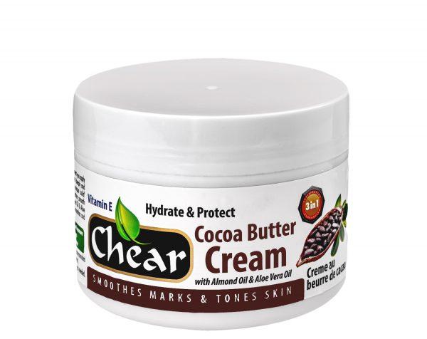 Chear cocoa butter cream for deep skin moisturising