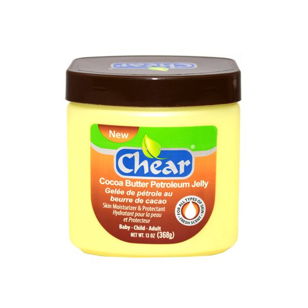 Chear Cocoa Butter Petroleum Jelly Skin Moisturiser & Protectant ideal to soften skin, treat dry skin, nappy rash and to sooth skin