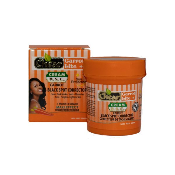 Chear Carrot Lite + Black Spot Corrector (B.S.C) Lightening Cream
