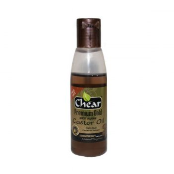 chear castor oil for skin, hair & nails