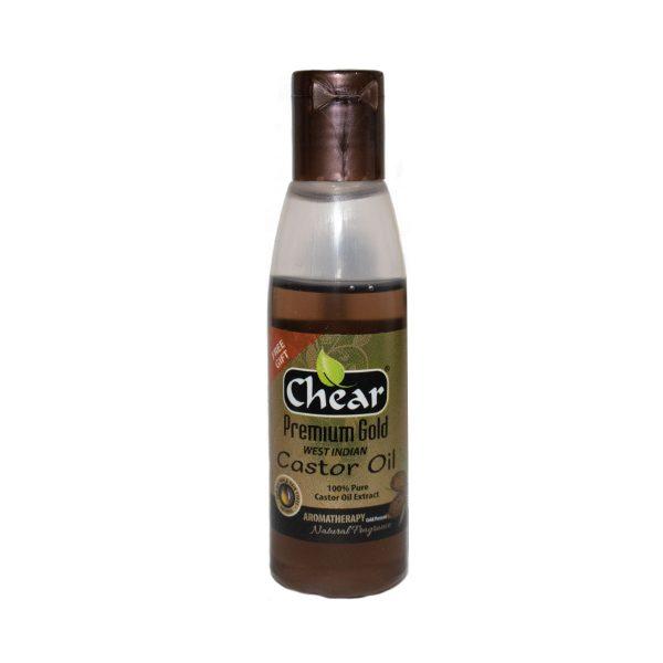 chear castor oil for skin, hair & nails