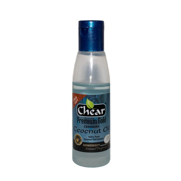 chear coconut oil for skin, hair and nails