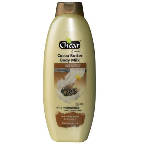 Chear Cocoa Butter & Vitamin E Ultra Moisturising Hand & Body Milk