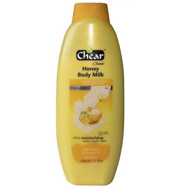 Chear Honey & Vitamin E Ultra Moisturising & Nourishing Hand & Body Milk Lotion