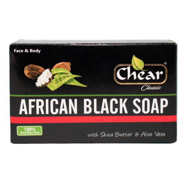 Chear Classic African Black Cleansing Face & Body Soap