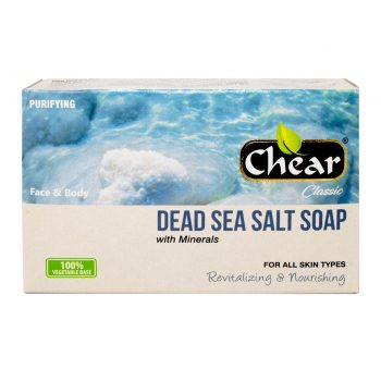 Chear Classic Dead Sea Salt Face & Body Soap