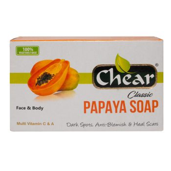 Chear Classic Papaya Face & Body Soap i