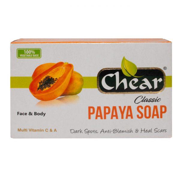 Chear Classic Papaya Face & Body Soap i