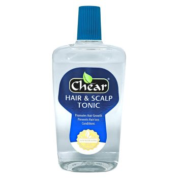 Chear Hair & Scalp Tonic fights dry hair, dry scalp and dandruff.