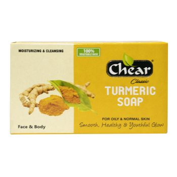 Chear Classic Turmeric Face & Body Soap is designed for Oily & Normal skin
