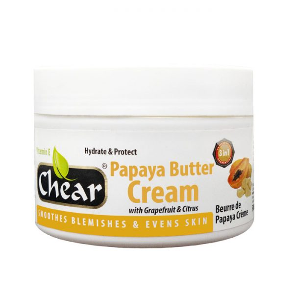 Chear Papaya Butter Cream with Grapefruit & Citrus For Hands & Skin