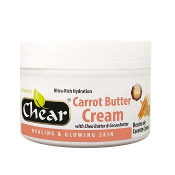 Chear Carrot Butter Cream with Shea Butter & Cocoa Butter For Hands & Skin