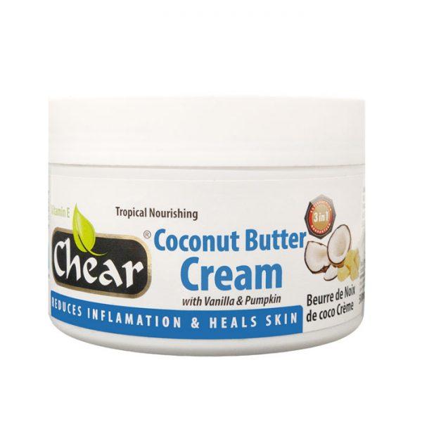 Chear Coconut Butter Cream with Vanilla & Pumpkin For Hands & Skin