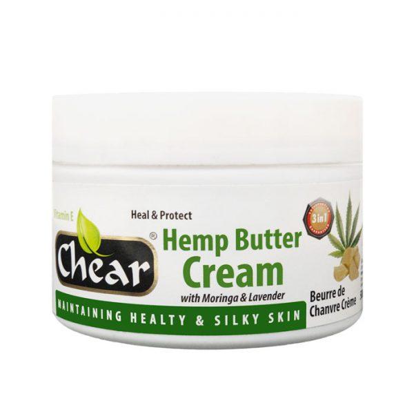 Chear Hemp Butter Cream with Moringa & Lavender For Hands & Skin