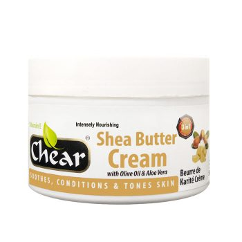 Chear Shea Butter Cream with Olive Oil & Aloe Vera For Hands & Skin