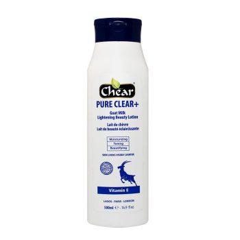 Chear Pure Clear + Goat Milk Lightening Skin Lotion