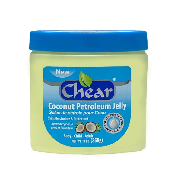 Chear Coconut Petroleum Jelly Skin Moisturiser Protectant 368g
